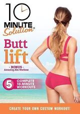 10 Minute Solution Butt Lift Exercise Tone Thighs Legs Workout Work Out DVD New