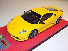 1/18 Looksmart MR Ferrari F430 Scuderia Yellow No Stripe  Leather 25 pcs