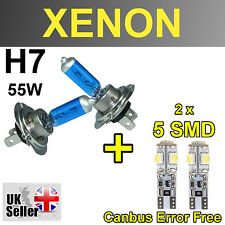 H7 55W XENON SUPER WHITE LIGHT BULBS W5W 5 SMD HEADLIGHT MERCEDES-BENZ VITO W639