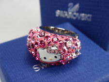SWAROVSKI HELLO KITTY CHIC RING (SIZE58/large) MIB #1175743