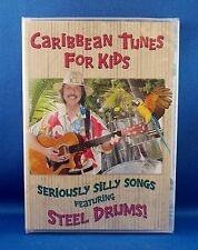 BRENT HOLMES Fun Tunes for Kids DVD CARIBBEAN ISLAND TUNES FEATURING STEEL DRUMS