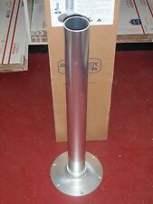 SEAT PEDESTAL GARELICK 3 75434 ANODIZED 30 INCH 2-7/8 TUBE 6HOLE BASE BOAT SEATS