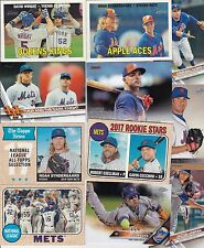 NEW YORK METS 5000 BASEBALL CARDS A NICE MIX AND FUN TO COLLECT READ