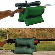 New Large Shooting Sand Bag Set Rifle Gun Bench Rest Range Gear Front & Rear Bag