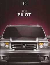 2013 13 Honda Pilot Original Sales Brochure