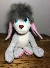 "POOKA PLUSH 8"" 1997 ANASTASIA GRAY FLOPPY FLAP MOVE  EARS FOX EQUITY DOG"
