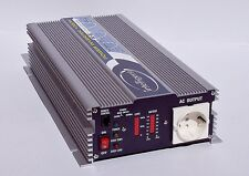 Wechselrichter-Spannungswandler 12V-1000W  reiner Sinus,  mit Energiesparmodus