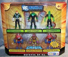 DC UNIVERSE CRISIS 2008 DEFENSE OF OA SET 6 FIGURES TOYS R US EXCLUSIVE