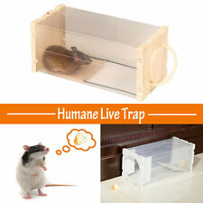 Rat Cage Mice Rodent Animal Control Catch Bait Hamster Mouse Trap Humane Live US