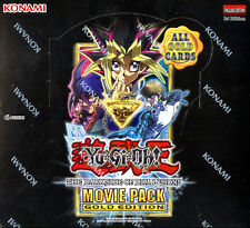 YU-GI-OH The Dark Side of Dimensions Movie Pack Gold Edition BOOSTER BOX YUGIOH