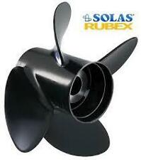 "Solas 9513-145-17 Rubex 4 135-300HP 14.5"" 17"" Pitch 4 Blade Right Aluminum"