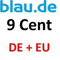 BLAU.DE SIMKARTE PREPAID mit 25€ Startguthaben TOP ANGEBOT bis 01.05.2016