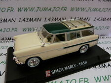 Voiture 1/43 IXO AUTO PLUS : SIMCA Marly 1959 break