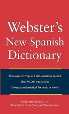 Webster's New World Spanish Dictionary by Agnes, Sister