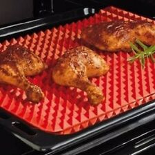 TV Direct Original Healthy Chef Raised Baking Sheet Silicone Roasting Mat