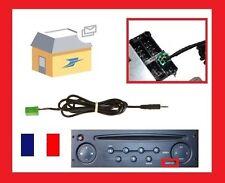 Cable auxiliaire aux 3.5mm prise audio autoradio MP3 pour RENAULT CLIO MEGANE 2