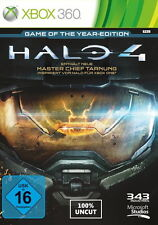 Halo 4-Game of the Year Edition para Xbox 360 * bueno * (con embalaje original)