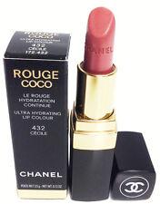 Chanel Rouge Coco Lipstick Ultra Hydrating Lip Colour 432 Cecile 0.12oz.