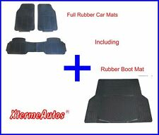Full Rubber Protection Mat Set For Peugeot 307, 407, 204, 206, 207sw, 306, 308sw