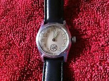 1 MEN'S WATCH LONGINE( MILITARY, 15 JEWEL, SWISS, SS, WORKS VERY GOOD)