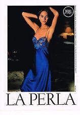 PUBLICITE ADVERTISING 025  1991   LA PERLA  sous vetements nuisette