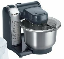BOSCH MUM4 KITCHEN MACHINE 550W STAINLESS STEEL MIXING BOWL 3.9L ANTHRACITE