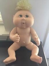 """2007 Cabbage Patch Doll 25th Anniversary 11"""" Vinyl Body Drink & Wet"""