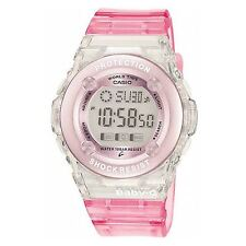 Casio Baby-G Ladies Pink Shock Resistant Resin Strap Digital Watch BG-1302-4ER