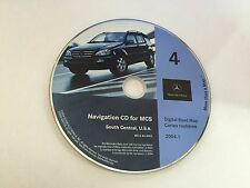 00 2001 2002 Mercedes ML320 ML430 ML500 Navigation CD 4 TX OK AR LA MS 2004 ©