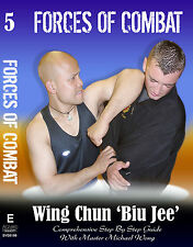 Forces Of Combat 5 Wing Chung Biu Jee Martial Arts DVD NEW