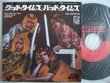LED ZEPPELIN GOOD TIMES BAD TIMES / 7INCH PS