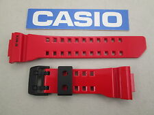 Genuine Casio G-Shock G'Mix Bluetooth GBA-400 GBA-400-4A watch band strap red
