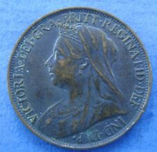 Verenigd Koninkrijk United Kingdom 1898 Queen Victoria 1 farthing 1898 KM# 788.2