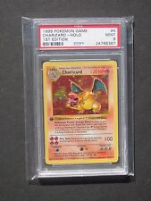 Pokemon PSA 9 1ST EDITION BASE SET CHARIZARD 4/102 - HOLO - MINT