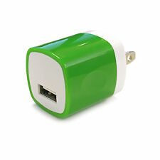 1A USB Power Adapter AC Home Wall Charger US Plug FOR iPhone 5 5S 6 Samsung