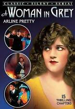 Woman in Grey - Complete Serial (Silent), Good DVD, Henry G. Sell, Arline Pretty