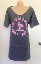 NWT Victoria's Secret The Angel Sleep Tee Shirt Pajama Dress Gown Size S (i19)