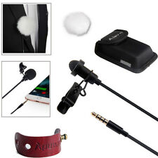Aputure A.lav ez Small Clip-On Lapel Microphone Mic for PC/Laptop/Skype 3.5mm