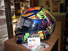 CASCO AGV INTEGRALE K3 SV REPLICA VALENTINO ROSSI FIVE CONTINENTS S