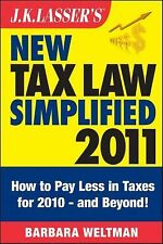 J.K. Lasser's New Tax Law Simplified 2011: Tax Relief from the American Recovery