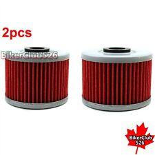 2x Oil Filter For Honda CRF250L CBR250R GB400F2 CBR300R CB300F XR650L