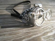 Steampunk Goggles Monocle with Key Necklace