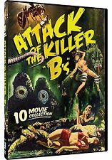 "ATTACK OF THE KILLER ""B'S"": 10 MOVIE COLLECTION - DVD - Sealed Region 1"