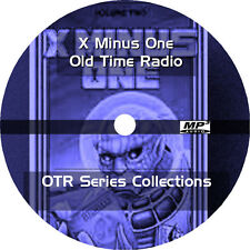 * X MINUS ONE (OTR) OLD TIME RADIO SHOWS * 120+ EPISODES on MP3 CD * SCI-FI UFO