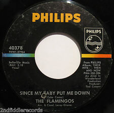 THE FLAMINGOS-Brooklyn Boogaloo-Rare Northern Soul - Doo Wop 45-PHILIPS #40378