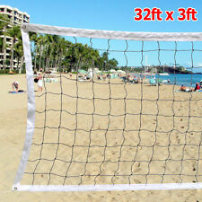 32ftx3ft VOLLEYBALL NET Official Size BEACH INDOOR OUTDOOR USA Seller