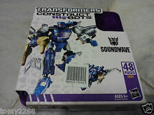 Transformers Construct Bot Soundwave 48pc Elite Class E1:02 Hasbro MISB