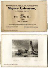Meyer's Universum: V. Bd., X. Lieferung. Mit 4 Stahlstichtafeln von 1838