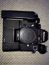 Nikon F3P HP 35mm SLR Film Camera w/MD-4 MF-14 NASA