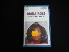 Vintage Cassette Tape Diana Ross 20 Golden Greats Used   Nr 6062
